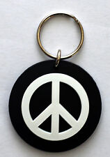 Peace Key Ring cnd hippy rock emo goth punk alternative indie emo rings biker oi