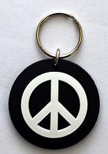 Peace Key Ring cnd hippy rock emo goth punk alternative indie emo rings biker oi