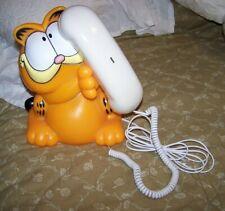 Sitting Garfield Talking Telephone VERY Rare! 1981