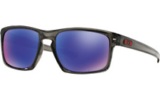 Oakley Sliver POLARIZED Sunglasses OO9262-11 Grey Smoke W/ Positive Red Iridium