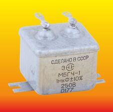 # 7 0111 4 pcs CAPACITOR /_ PIO AUDIO /_/_ MBGP-2 /_/_ 1uF 400V