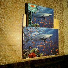 "Melissa & Doug Jigsaw Puzzle Shark 100 Pieces 14 X 19"" Goldfish"