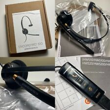 New Plantronics HW510 EncorePro510 USB Noise Cancelling Mic Headset - No Reserve
