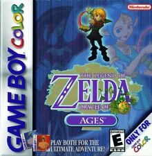 The Legend Of Zelda Oracle Of Ages - Game Boy Color Sp