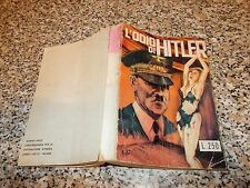 L'ODIO DI HITLER raccolta TV PICTURES STORIES N.1-2 BARBIERI 196? ORIG. M.BUONO
