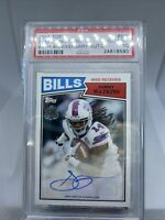 2015 Topps Sammy Watkins 60th Anniversary Auto PSA 10. 1 POP!! Chiefs 18/25 SP!!