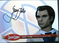CAPTAIN SCARLET - Gary Files, Captain Indigo, Autograph Card - Unstoppable Cards