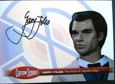 CAPTAIN SCARLET - Gary Files, Captain Indigo, Autograph Card - Unstoppable GF2