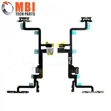 Replacement Power ON/OFF Volume Mute Flex Ribbon Cable + Mic for iPhone 7 Plus