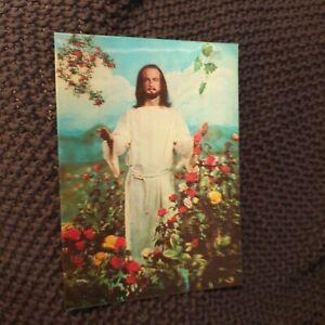 Come Unto Me - Jesus - Holographic Postcard