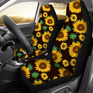 2PCS Universal Front Car Auto Truck Seat Covers Cushions Protector