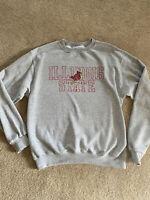 Illinois State University Redbirds Champion Pullover Medium Mens Barely Used!