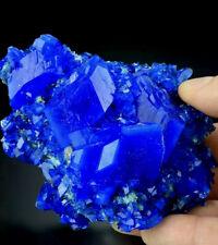"""Blue Chalcanthite """"Crystal Cluster� on Matrix Stone """"Crystal Specimen� Us Seller"""
