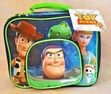 Toy Story 4 Buddies Pvc Free Kids Soft School Lunch Bag Woody Bo Peep Buzz New