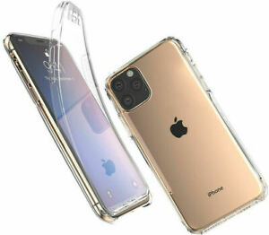 360 CLEAR CASE/ Tempered Glass FOR IPHONE 11 12 PRO MAX 12 Mini Ring Case COVER