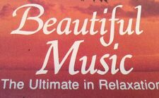 BEAUTIFUL MUSIC Tape Cassette THE ULTIMATE IN RELAXATION Madacy Canada CAFX-6736