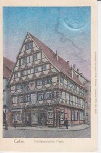 Postcard Lower Saxony Celle Thielebeulsches Home 1909 Lunakarte