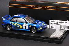 Subaru Impreza #3 1999 Safari Rally **Richard Burns** -- HPI #8581 1/43