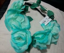 Mimco Blossom Spearmint Green Garland Headband FASNATOR