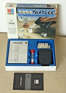 Yahtzee Word / Dice Game 1979 by MB Games Vintage 100% Complete VGC
