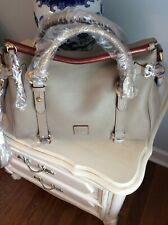 Dooney & Bourke Small Light Taupe Florentine Satchel