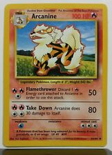 Arcanine 23/102 - NM / M Base Set Pokemon Card - $1 Combined Shipping - Uncommon