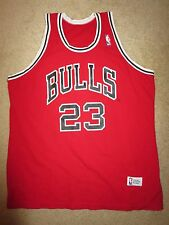 Michael Jordan #23 Chicago Bulls NBA Sand-Knit Jersey Youth XL 18-20