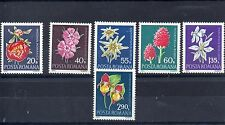 Flowers Romanian Stamps