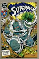 Superman The Man Of Steel #18-1992-nm- 1st Doomsday full app 2nd Variant Cover