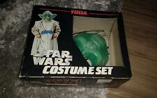 vintage Star wars Yoda costume set Acamas toys 1983 Super rare