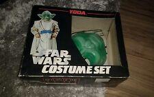 vintage Star wars Yoda costume set Acamas toys 1983 Super rare