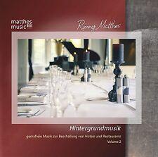 Hintergrundmusik, Vol. 2 [Gemafreie Musik zur Beschallung von Restaurants] (CD)