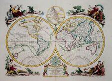 THE WORLD - IL MAPPAMONDO BY ANTONIO ZATTA. 1774