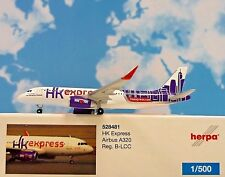 Herpa Wings 1:500 Airbus A320 HK Express B-LCC  528481  Modellairport500