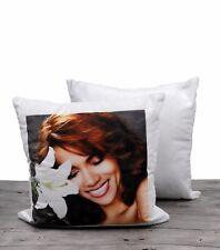 10pcs diy Sublimation White blank diy Custom Designs Pillow Cover Velvet Pillow