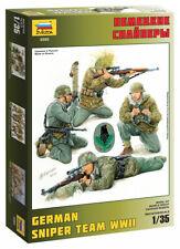 Zvezda 3595 German snipers Assembly kit model 1:35