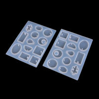 DIY Silicone Pendant Mold Making Jewelry For Resin Necklace Mould Craft Tool Pip