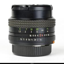 *Lens Zeiss Prakticar 1.4/50mm  MC  No.18247   For Praktica BMC