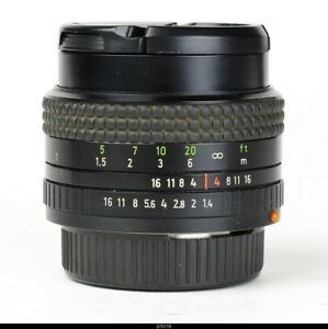 *Lens Zeiss Prakticar 1.4/50mm  MC  No.18247   For Praktica BMC
