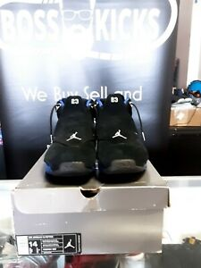 Nike Air Jordan 18 XVIII Retro Black Silver Royal Blue AA2494-007 size 14