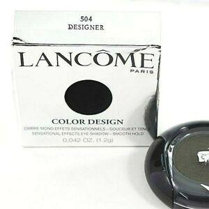 Lancome Color Design Sensational Effects Eyeshadow Smooth Hold~ 504 Designer NIB
