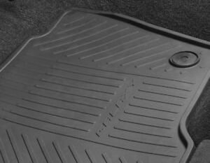 Genuine Ford S-Max 2015> Front Rubber Floor Mats / Mat In Black 1948137