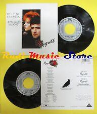 LP 45 7''MYLENE FARMER JEAN LOUIS MURAT Regrets 1991 france POLYDOR no cd mc dvd