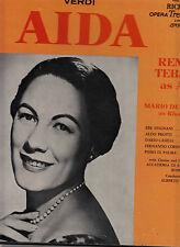 3 LP OPERA BOX-AIDA-VERDI-TEBALDI-PROTTI-EREDE 1957 CLASSIC-RICHMOND UK FFRR VG+