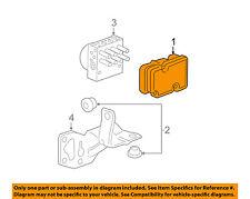 Chevrolet GM OEM 2011 HHR Anti-lock Brakes-Control Module 20827127
