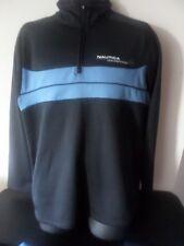 NAUTICA - Track Suit Zippered Jacket - Navy / Lite Blue  - Size LARGE