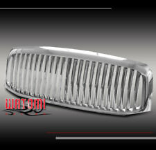 2006 2007 2008 DODGE RAM SLT ST SXT PICKUP FRONT UPPER CHROME ABS GRILLE GRILL