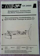 Catálogo De Piezas Cortadora de disco GX2400S jf