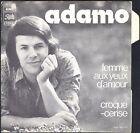 ADAMO FEMME AUX YEUX D'AMOUR 45T SP PATHE 81.176 + LANGUETTE