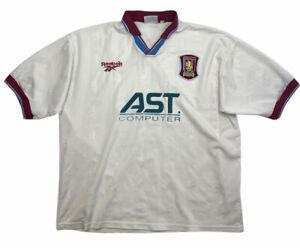 Vintage Aston Villa 1996-1998 Away Football Shirt   Large